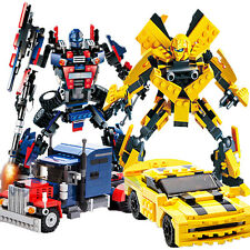 Children's Educational Puzzle Toys Transformers Bumblebee Optimus Prime Ironhide