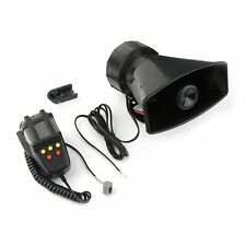 12V 50W Electric Horn 5 Sounds Car Truck Motorcycle PA Speaker System Lot MC