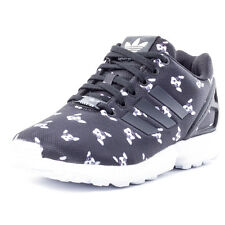 adidas Zx Flux W Womens Trainers Black White New Shoes