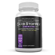 Carb Stopper Extreme Carbohydrate Neutralizing Complex (60 Vegetable Capsules)