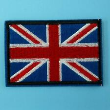 Union Jack Britain UK England Flag Iron Sew on Embroidered Badge Patch Biker Lot