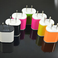 US Plug USB Travel Power AC Wall Charger Adapter For iPhone Samsung SmartPhone