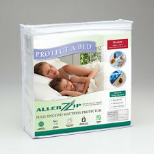 NEW Allerzip Smooth Fully Encased Mattress Protector