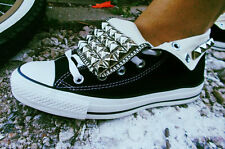 Custom Handmade Studded Converse Shoes