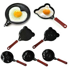 Mini Heart Shape Egg Pancake Non-Stick Fry Frying Cook Kitchen Breakfast Pan BD
