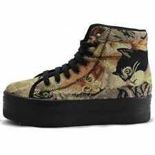 Jeffrey Campbell Homg Cat Tapestry Boots Ladies UK 7 EUR 40