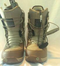 Burton Women's Sable Snowboard Boots Dune Brown Size 6 In Good Condition