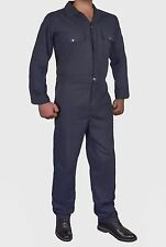 MENS ADULTS SUPERB QUALITY 100%COTTON COVERALL OVERALL BOILER SUIT WORKWEAR ZIP