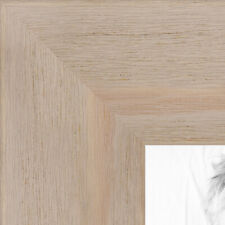ArtToFrames 1.75 Inch Tan Distressed Wood Picture Poster Frame 82223