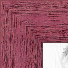 ArtToFrames 1.5 Inch Berry Rustic Wood Picture Poster Frame 83235