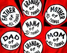 MOM of ALL THINGS all FAMILY NAMES AND #'S THING 1 and THING 2 TOO DR SEUSS