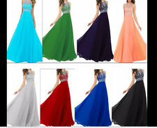 Hot New Beaded Party Dresses Chiffon Prom/Formal/Evening/Pageant Bridal Gown