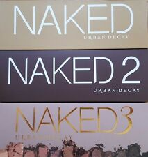 New Naked 1 2 3 Palette Professional Makeup Eye shadow set