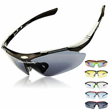 ROBESBON Polarized Cycling Sunglasses Bike Goggles Outdoor Sports Glasses 5 Lens