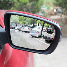 Sector Car Auto 360°Wide Angle Rear View Side Blind Spot Convex Mirror Silver