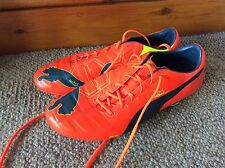 Mens Puma EvoPower 1 Fg Football Boots Uk Size 9.5 Rrp £145