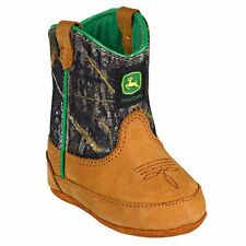 John Deere JD0188 Baby's Green Crib Wellington Boots - New With Box