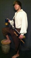 Broad-front Breeches Cotton twill Colonial POTC Pirate 18th Cent Rendevous F&I