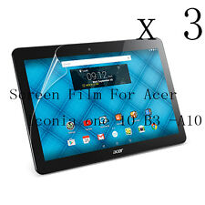 3 Glossy Matte Screen Protector Guard Film For Acer Iconia one 10 B3 -A10 10.1""