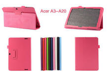 PU Leather Case Stand Cover Protector For Acer Iconia Tab 10 A3-A20