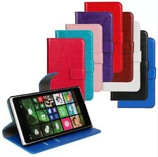 Crazy Horse PU pattern Wallet Case Cover Protector Skin For NOKIA Lumia 830 N830