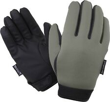 Olive Drab Insulated Waterproof Cold Weather Neoprene Gloves