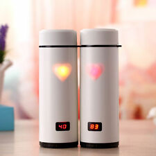 Digital LED Display Stainless Steel Thermos Bottle Vacuum Cup Mug Thermometer