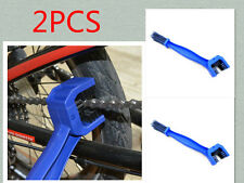2PC Bicycle Motorcycle Bike Chain Cleaner Dirt Remover Chain Cleaning Brush Tool