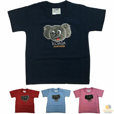 Kids KOALA AUSTRALIA T Shirt Tee Souvenir Gift Children's Child 100% Cotton Top