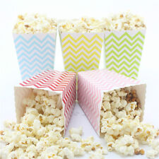 36pcs Popcorn Snack Boxes/Buckets/Bags(Party/Food/Retro/Hollywood/Movie/Treat)