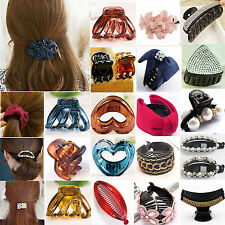 Be Women Hair Plastic Claws Clamp Clips Hairpin Banana Grips Slides Accessories