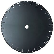 Rescue Demolition Diamond Blade for PVC Iron Ductile Steel Rebar - Vacuum Brazed