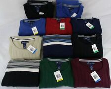 JOHN ASHFORD *nwt* MENS Crew NECK Sweaters in MULTIPLE Sizes AND Colors