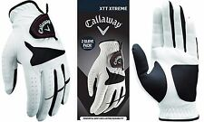 CALLAWAY GOLF XTT Xtreme 4-Pack White Gloves Mens Synthetic Leather 2 2 Packs