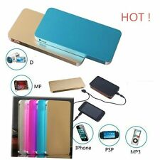 10000mAh External Power Bank LED Dual USB Battery Charger For Mobile Phone~sfg