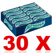 30 x AIRWAVES Chewing Gum Menthol by Wrigley's Free Worldwide Shipping Best Deal