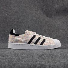 ADIDAS ORIGINALS SUPERSTAR 80S PK PRIME KNIT (WHITE/WHITE) S75845 MEN'S SHOES