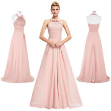 LONG Prom Cocktail Wedding Guest Bridesmaid Dress Graduation Evening Party Gowns