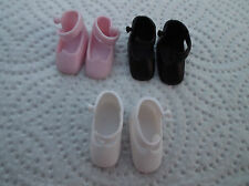 PAIR DOLL SHOES FOR THE TINY BETSY McCALL doll choice colours