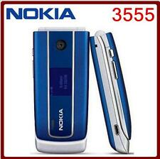Nokia 3555 Flip Cell Phone GSM Mp3 Bluetooth mobile phone Unlocked Original