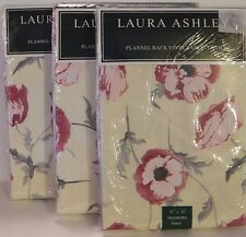 Laura Ashley Flannel Back Vinyl Tablecloth Freshford Size Options