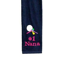 Personalized Golf Towel, Nana Golf Towel, Personalized With Any Name, AGift 157