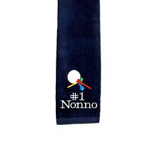 Personalized Golf Towel, Nonno Golf Towel, Personalize With Any Name, AGift 738