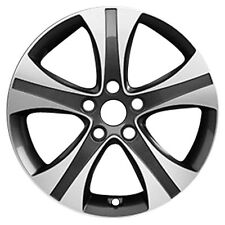 70836 Factory, OEM Reconditioned wheel 17 X 7; Dark Charcoal w/Machined Face