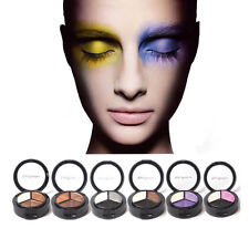 3 Colors Eyeshadow Natural Smoky Cosmetic Eye Shadow Palette Kit Set Make Up New