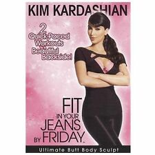 Kim Kardashian: Fit in Your Jeans by Friday - Ultimate Butt Body Sculpt (DVD,...