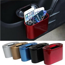 Mini Vehicle Auto Car Garbage Can Dust Case Holder Box Bin Trash Rubbish Can