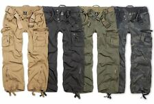 BRANDIT ROYAL VINTAGE CARGO PANTS MENS CLASSIC ARMY COMBAT TROUSERS LARGE SIZE