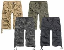BRANDIT URBAN LEGEND 3/4 CARGO PANTS LONG ARMY COMBAT SHORTS BELOW KNEE MILITARY