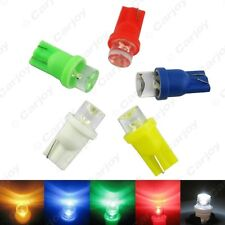50 x 5-Color Car T10 194 168 Concave LED Wedge Base Dashboard LED Light